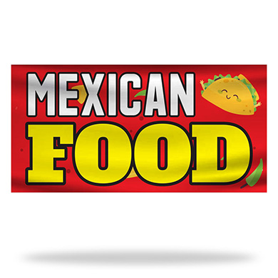 Tex Mex Flags & Banners Design 04