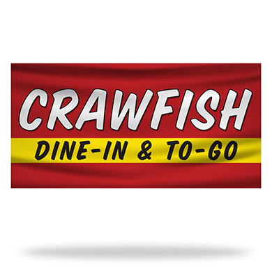 Crawfish Flags & Banners Design 02