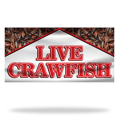 Crawfish Flags & Banners Design 03