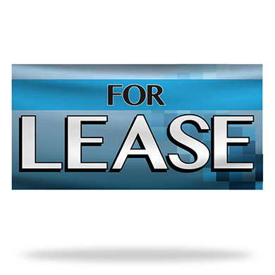 For Lease Flags & Banners Design 02