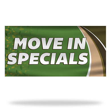 Move In Specials Flags & Banners Design 03