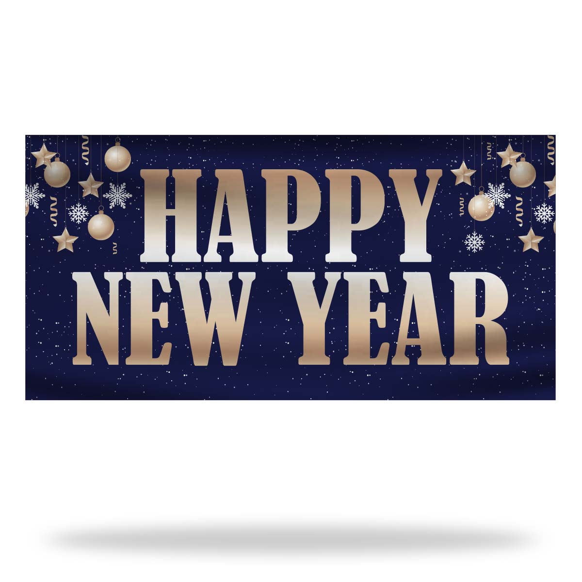 New Year Flags & Banners Design 02