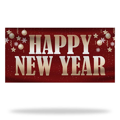 New Year Flags & Banners Design 03