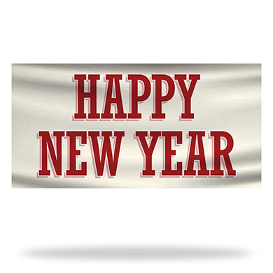 New Year Flags & Banners Design 04