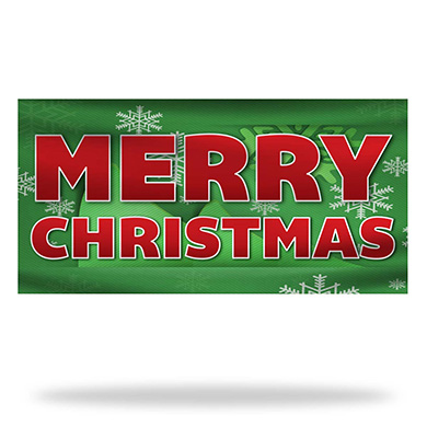 Christmas Flags & Banners Design 03