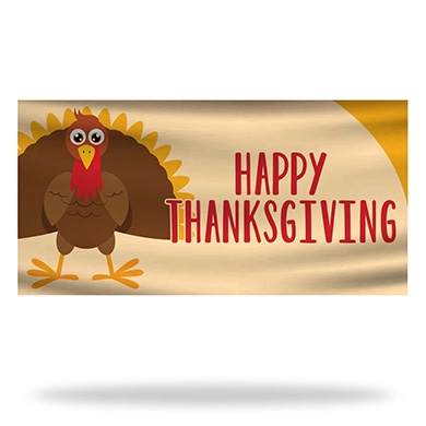 Thanksgiving Flags & Banners Design 01