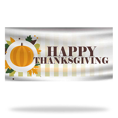 Thanksgiving Flags & Banners Design 03
