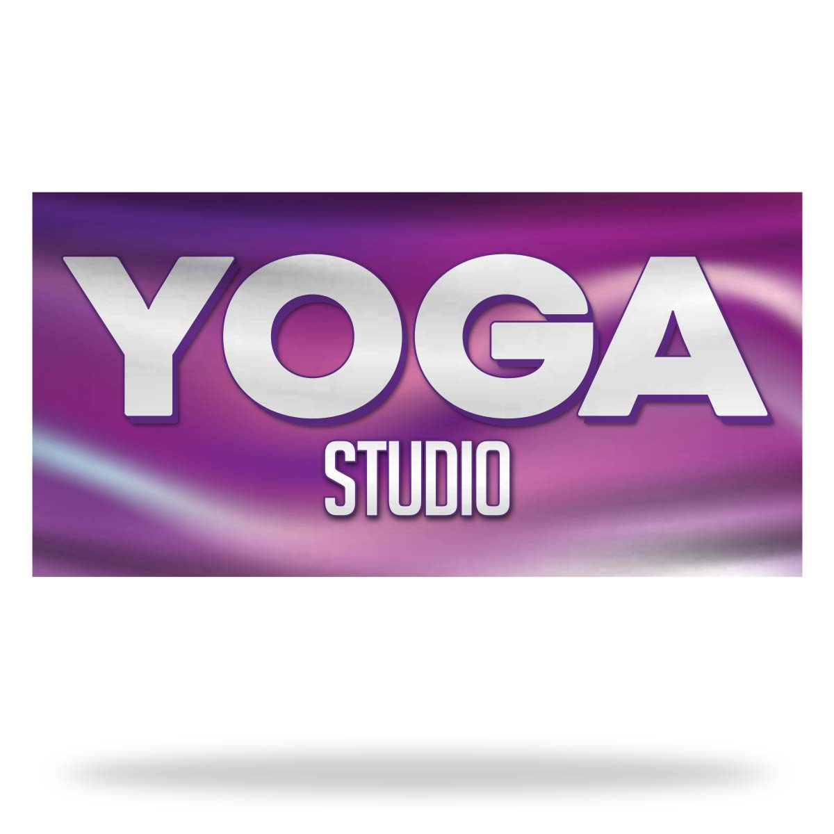Yoga Flags & Banners Design 01