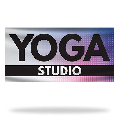 Yoga Flags & Banners Design 02