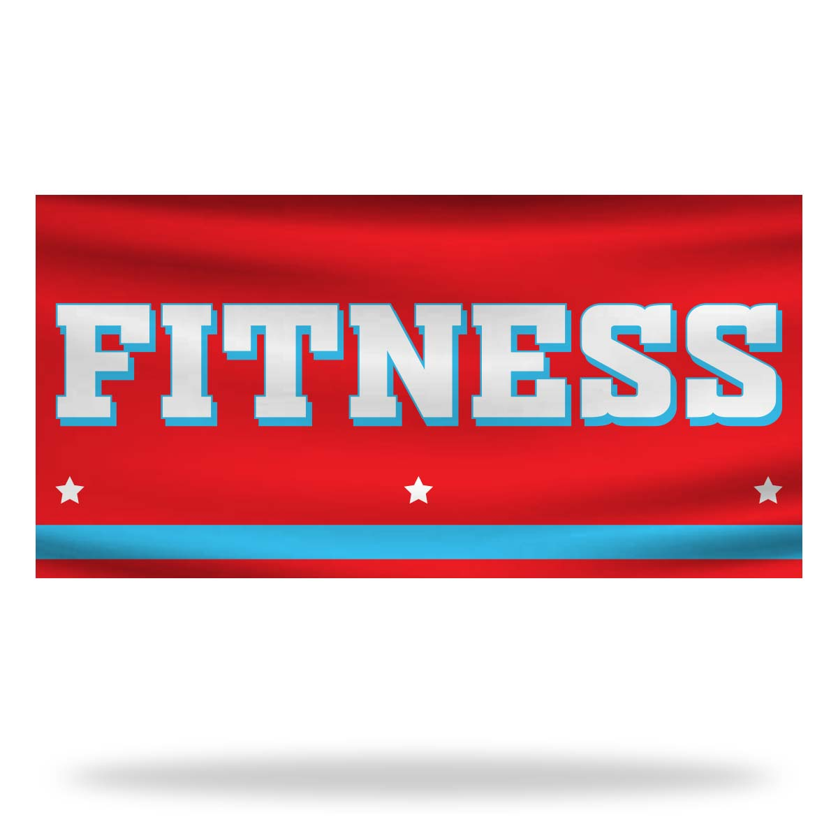 Fitness Flags & Banners Design 01