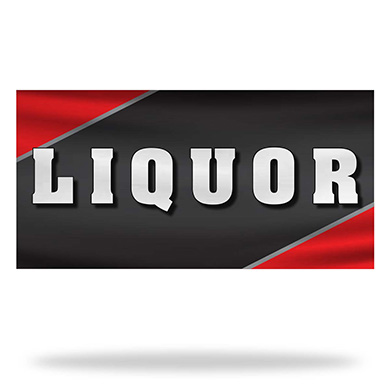 Liquor Flags & Banners Design 01