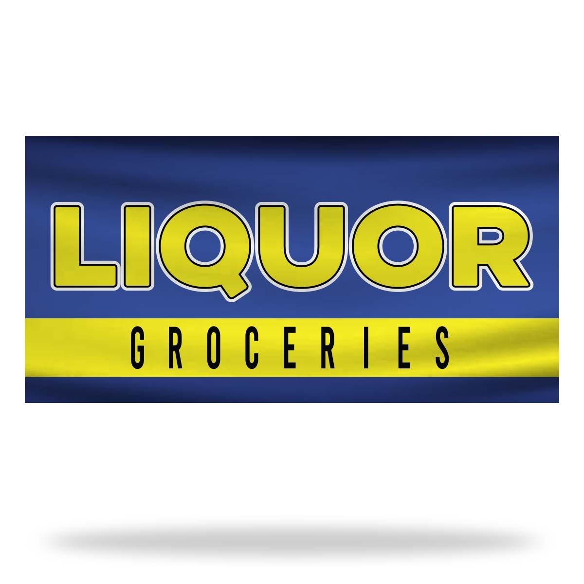 Liquor Flags & Banners Design 02