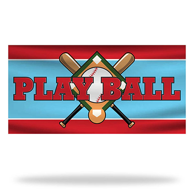 Baseball Flags & Banners Design 01