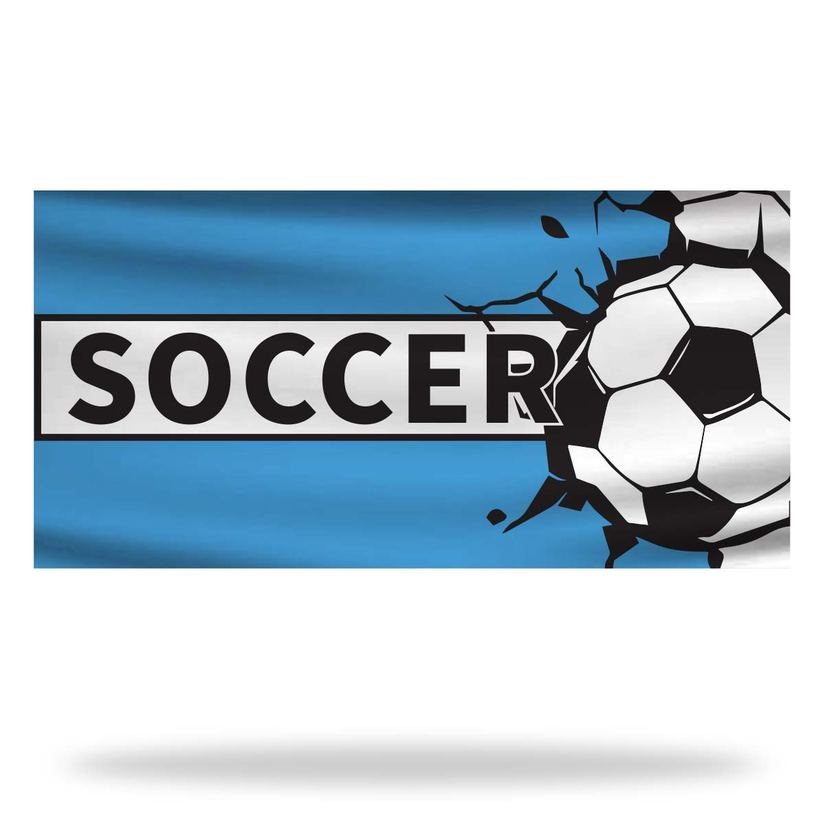Soccer Flags & Banners Design 02