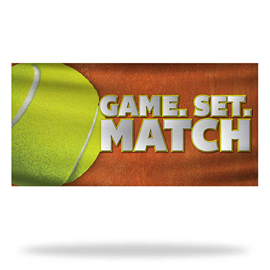 Tennis Flags & Banners Design 01