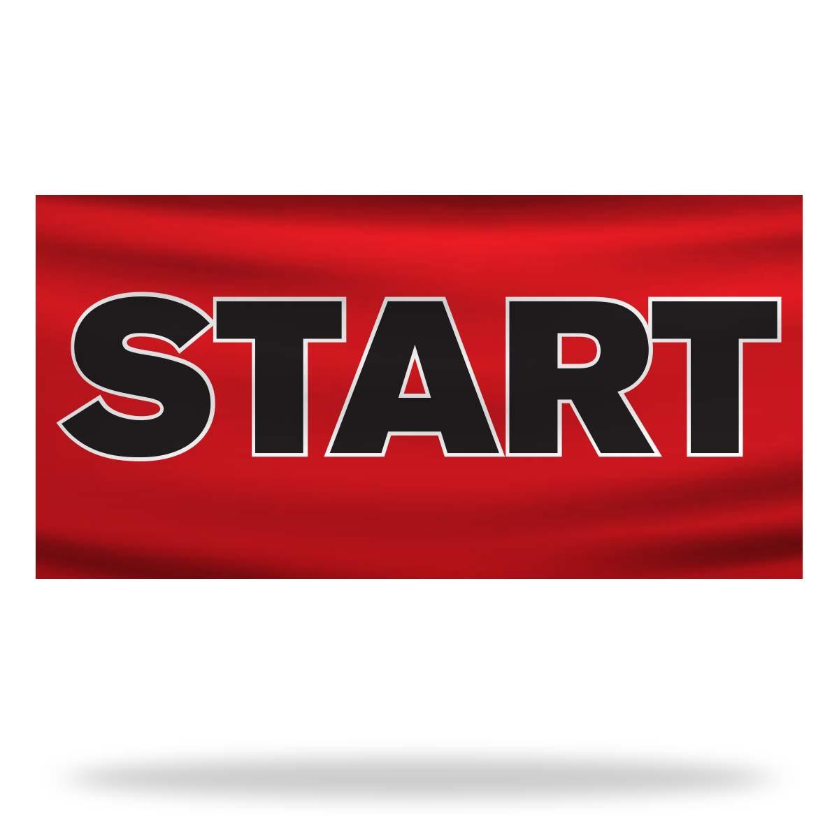 Start Flags & Banners Design 02
