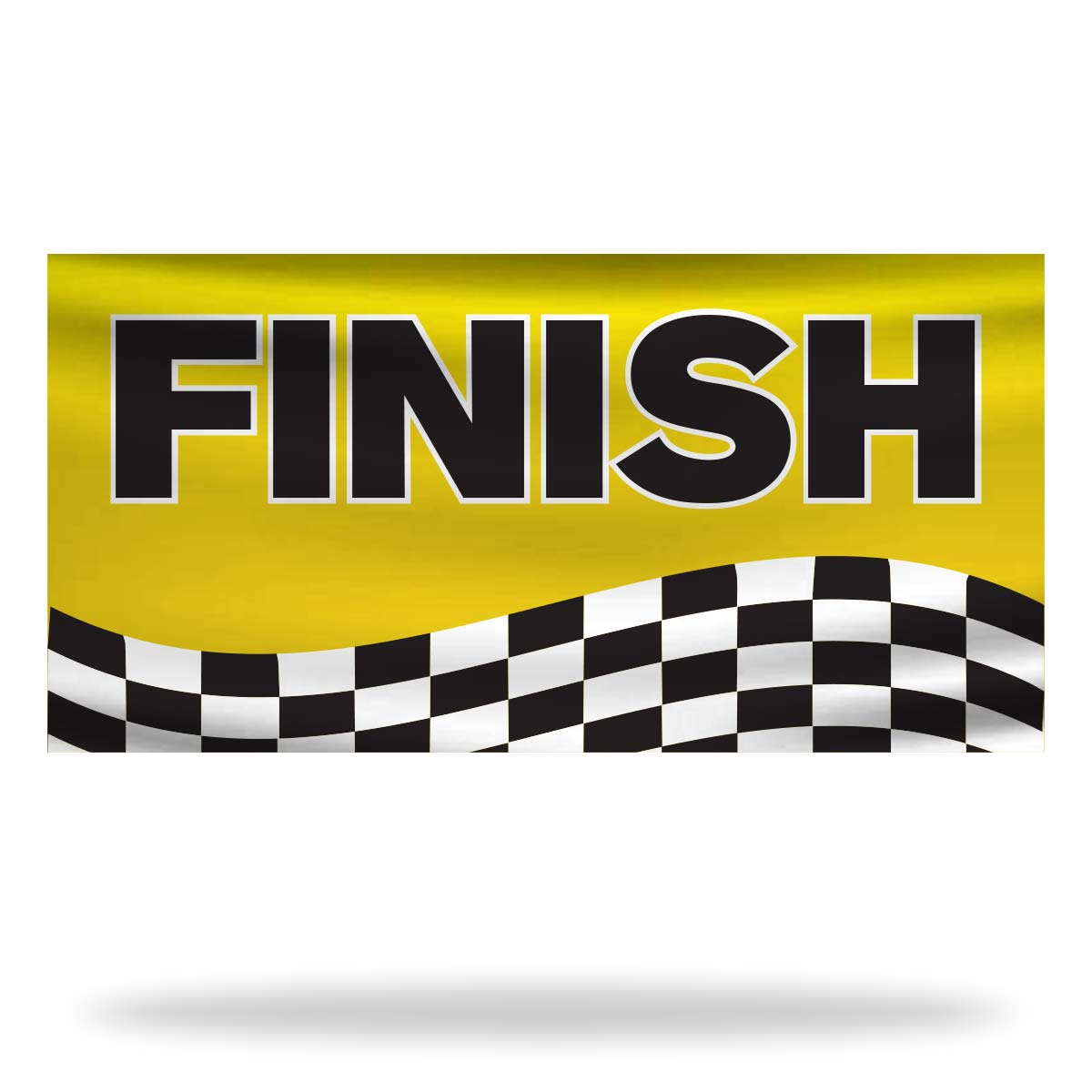 Finish Flags & Banners Design 01
