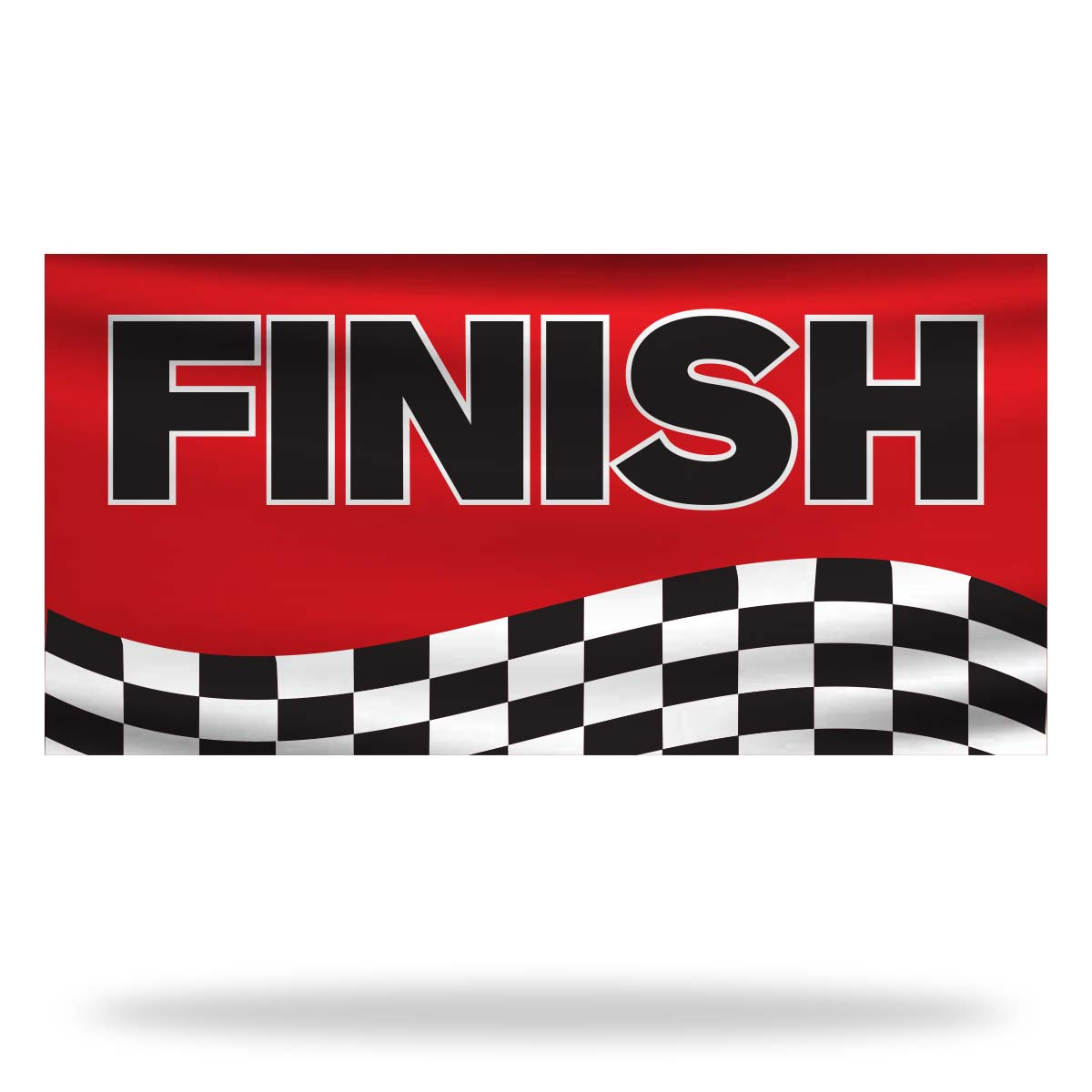 Finish Flags & Banners Design 02