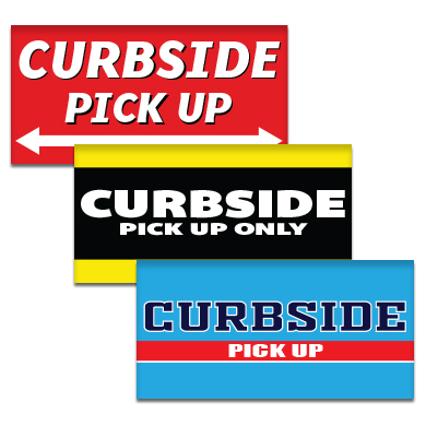 Buy Curbside Pickup Pre-Designed Online