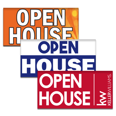 Buy Open House Flags Pre-Designed Online