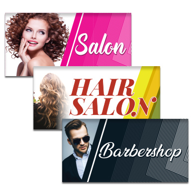 Buy Salon Flags Pre-Designed Online