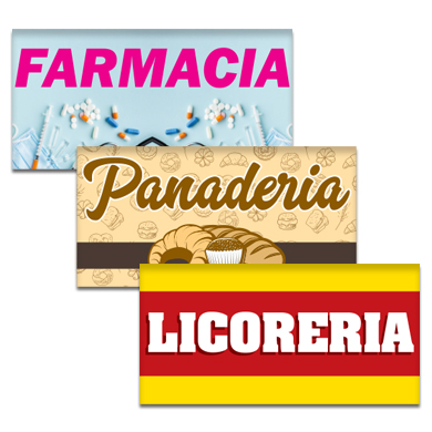 Buy Spanish Business Flags Pre-Designed Online