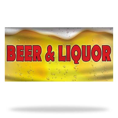 Liquor Flags & Banners Design 03