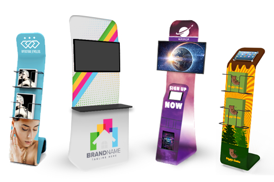Literature Stands Kiosks
