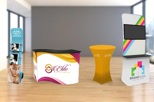 Custom Display Kiosks & Counter