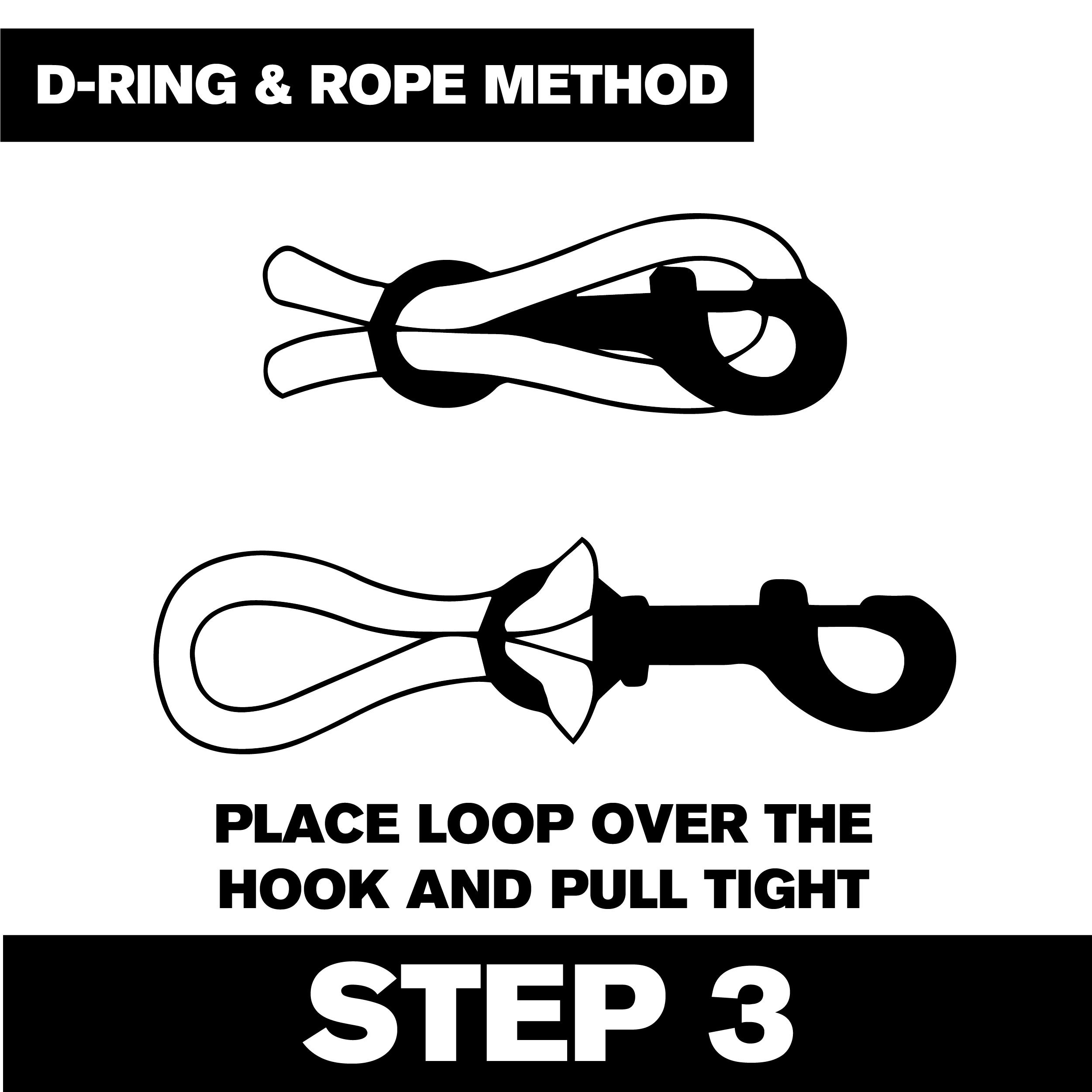 D-ring Step 3