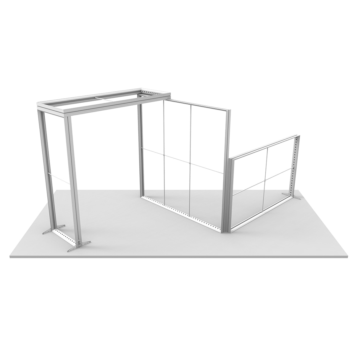 Popular Brite-Lite Lightbox Combination (10x20ft)