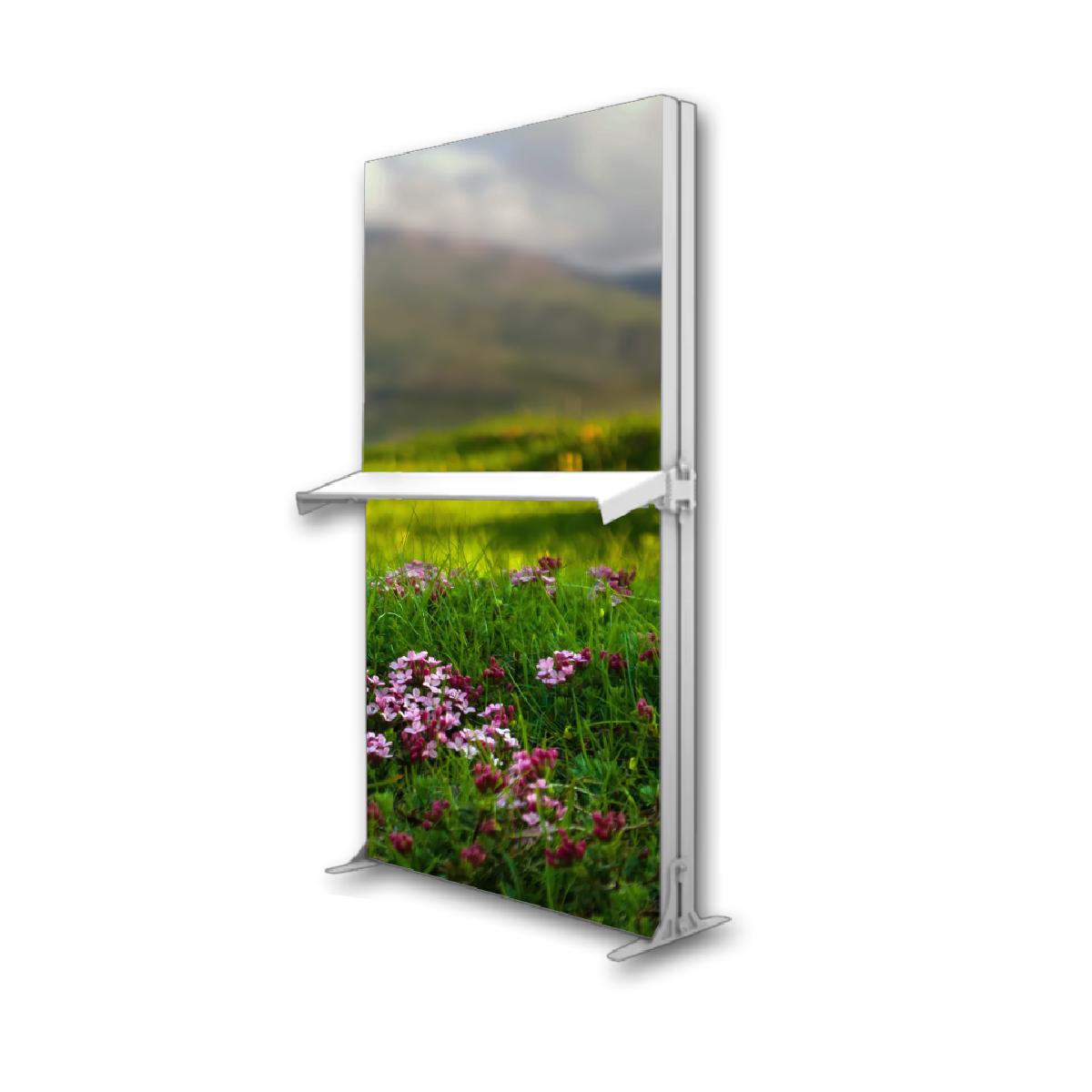Brite-Lite Modular Lightbox Display Shelf Unit