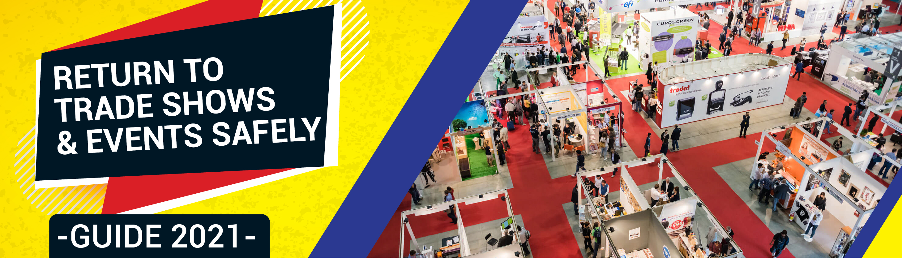 Return to Trade Shows & Events Safely Guide 2021
