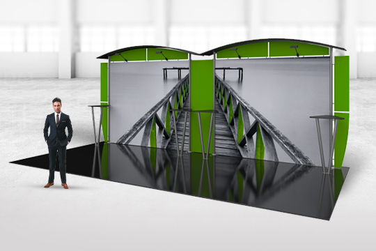 Linear Modular Trade Show Displays Booths