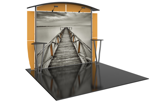 10ft Inline Booth Option