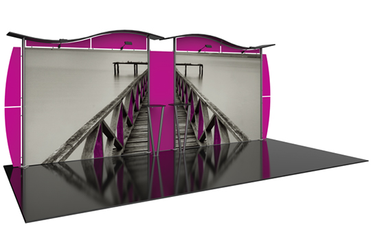 20ft Inline Booth Option