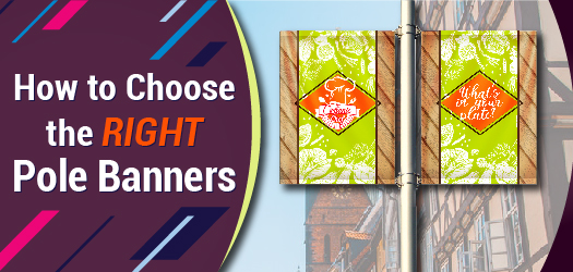 How to choose right pole banners