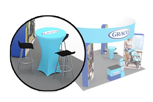 Fabric Custom Table