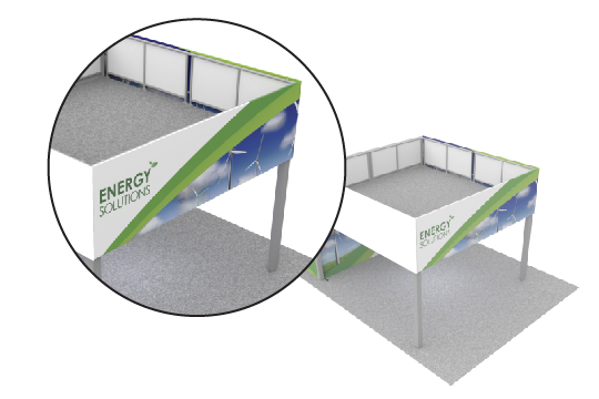Double Decker Trade Show Individual Graphics
