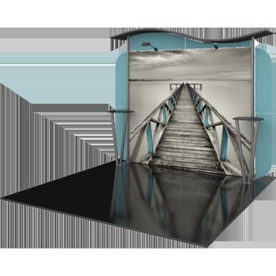 10x10 Trade Show Booth Modular Linear 02