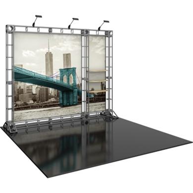 10x10 Trade Show Booth Modular Truss 01