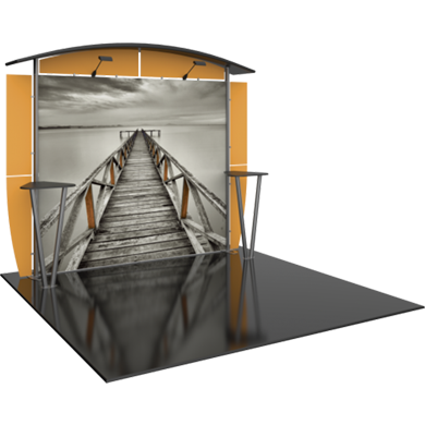 10x20 Trade Show Booth Modular Linear 01