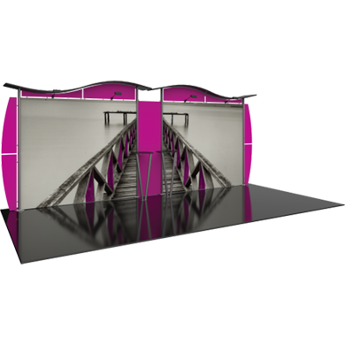 10x20 Trade Show Booth Modular Linear 02