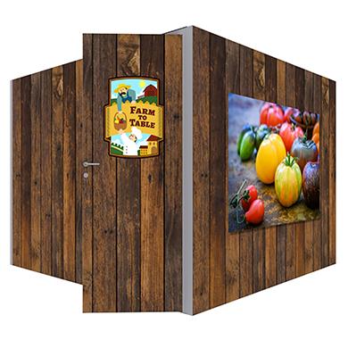 10x10 Modco Modular Trade Show Display Full Enclosure Unit