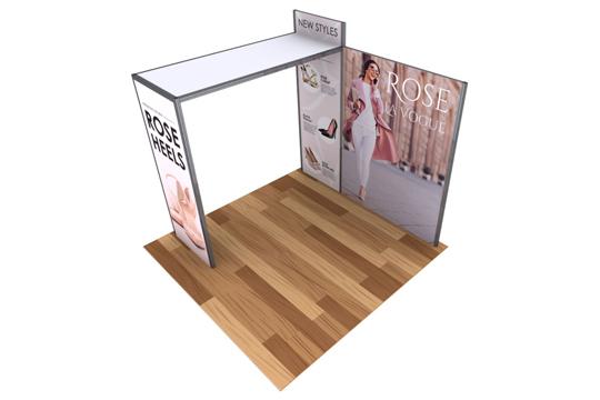 10x10 Alpine Trade Show Booths