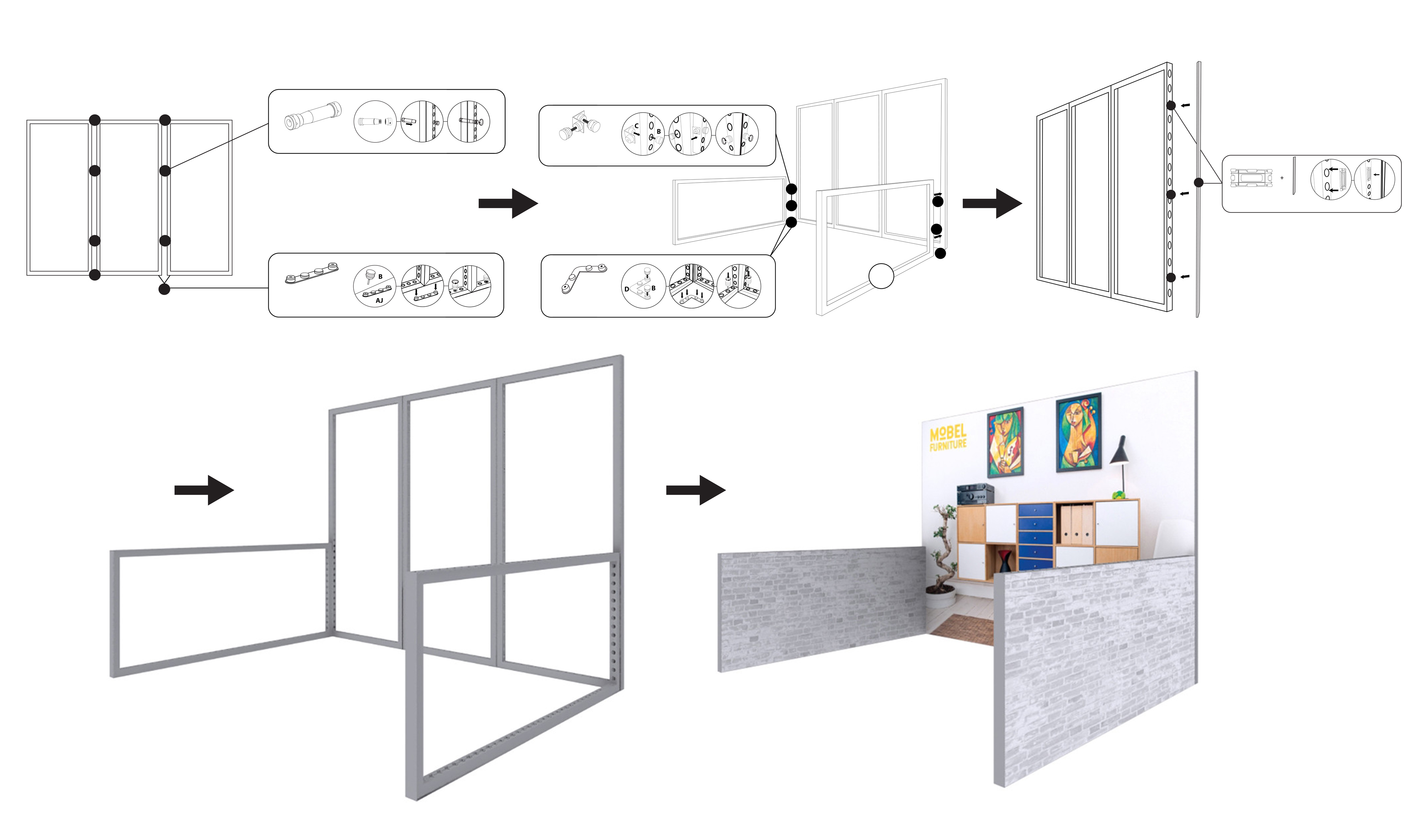 How to Assemble Modco Modular Trade Show Booths