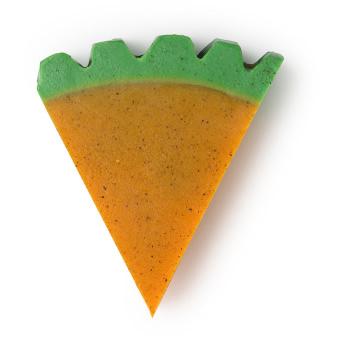A orange Carrot soap