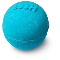 strong blue mini gift bath bomb