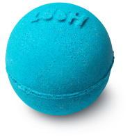strong blue mini gift bath bomb