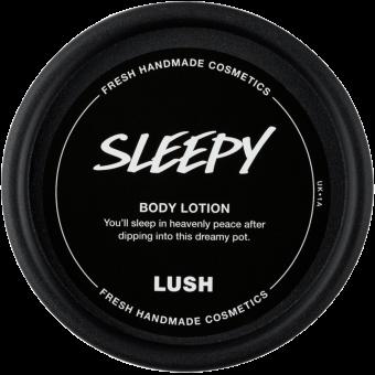 Sleepy body lotion